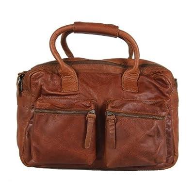 Cowboysbag - Bolso al hombro de cuero para mujer marrón Cognac (Braun)