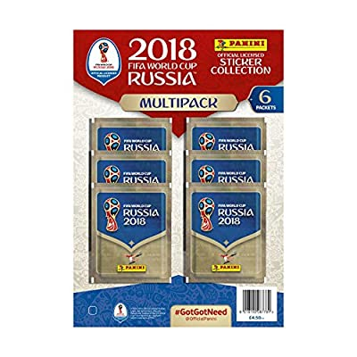 Panini FIFA World Cup 2018 Sticker Multipack