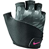 Nike Damen Womens Printed Gym Elemental Fitness Glove 970 Handschuhe, Gunsmoke/Anthracite, M