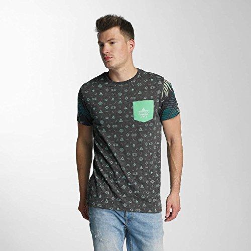 Just Rhyse Uomo Maglieria/T-Shirt Lake Davi's Nero