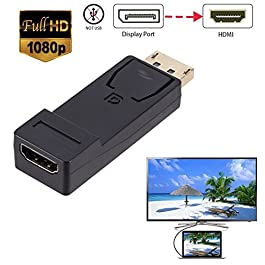 iodvfs Portable DP Maschio a HDMI convertitore femmina HDMI convertitore adattatore plug and Play connettore per Home Office