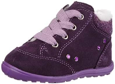 Richter Kinderschuhe Flips 0026-221-7500, Baby Mädchen Lauflernschuhe, Violett (blackberry/aubergine 7500), EU 22