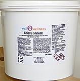 well2wellness Chlor C Granulat - Calciumhypochlorit Granulat mit ca. 70% Aktivchlor speziell für weiches Wasser - 5,0 kg