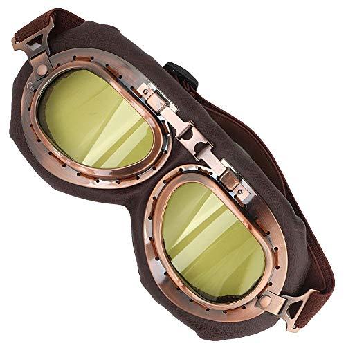 Tbest Fahrrad Schutzbrille Radsportbrille Anti-Wind Anti-Sand Sportbrille Augenschutz Sonnenbrille Männer Frauen für Verschiedene Outdoor-Sportarten Motorrad Fahrrad Skifahren Skaten Angel(Gelb) (Gelbe Snowboard-schutzbrillen)