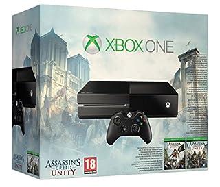 Xbox One Console with Assassin's Creed Unity & Black Flag (B00KJFDOYA) | Amazon price tracker / tracking, Amazon price history charts, Amazon price watches, Amazon price drop alerts