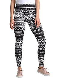 86f3202fd7b0c Amazon.fr   Multicolore - Leggings   Femme   Vêtements
