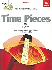 Time Pieces For Horn Volume 1. Sheet Music for French Horn, Piano Accompaniment