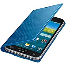 Samsung BT-EFFG800BE - Funda tipo flip para Samsung G800F Galaxy S5 mini, color azul