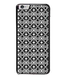 PrintVisa Designer Back Case Cover for Apple iPhone 6S (Multi diamond pattern Classy arnamonds design)