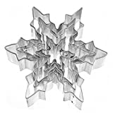 Demarkt cake cookie Cutter Mould snowflake Aluminium Mold Sugarcraft Biscuit Cookie Cake Pastry Baking Cutter Mould Tool Pastry Tools Baking Tools For Cakes