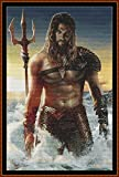Aquaman 2–Tabla de punto de cruz/patrón [PDF en un CD]