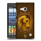 Head Case Designs Adelig Jahr Des Pferdes Ruckseite Hülle für Nokia Lumia 730 / 735