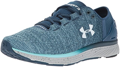 Under Armour Damen UA W Charged Bandit 3 Laufschuhe, Blau (Navy Bleu Marine), 40.5 EU (Armour Under Marine)