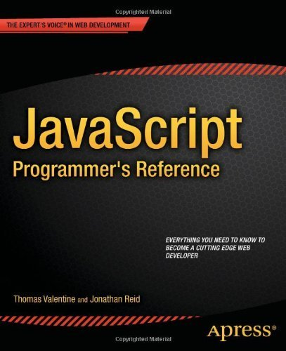n Stefan: Download JavaScript Programmer's Reference 1st edition by