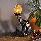 GLP Südostasiatische thailändische Art-Beleuchtungs-Verein-Haus-Modell-Haus-Handwerks-thailändische dekorative Lampen Tisch- & Nachttischlampen