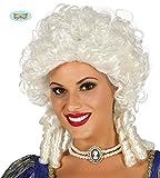 Perruque baroque blond avec boucles pour les femmes