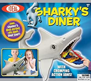 POOF-Slinky 36300 Ideal Sharky's Diner Game by Ideal TOY (English Manual)