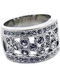Jodie Rose Clear Crystal Ring