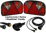 Aspöck Multipoint 2 - Leuchten Set - 13polig - 5m Kabel