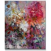 Fesselnd XIAOXINYUAN 100% Handgemalte Ölgemälde Blumen Lila Abstrakte Moderne Wall  Art Wohnzimmer Bild Home Dekoration Malerei