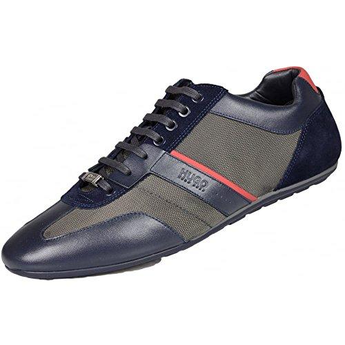 Preisvergleich Produktbild Hugo Boss ,  Herren Biker Boots ,  Blau - navy - Größe: 41.5