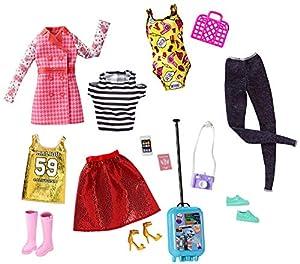 Barbie Pink Passport Ropa Barbie y Accesorios para las Muñecas (Mattel FLB31)