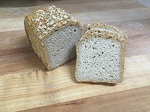 Bio Haferbrot aus glutenfreien Haferflocken 500 g