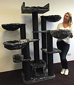 arbre chat maine coon pour gros chats xxl fantasy. Black Bedroom Furniture Sets. Home Design Ideas