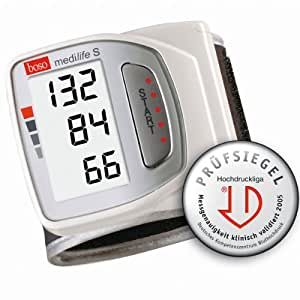 BOSO Medilife S das vollautomatische Handgelenk Blutdruckmessgerät