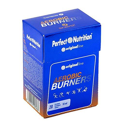 Quemagrasas termogenico potente para adelgazar con Carnitina líquido 20 sticks Quemado de grasa máximo dando mejor respuesta al cansancio y mayor energía AEROBIC BURNERS.