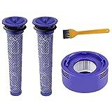ABC life Kit Filtro Pre & Postazione per Aspirapolvere Dyson V7 e V8, Lavabile e Riutilizzabile, DY-96566101, DY-96747801 (Set di 3)
