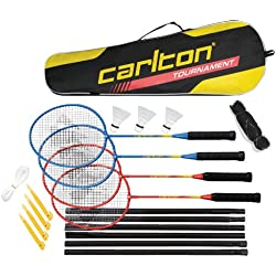 Carlton Tournament 4 Player Set G4 Ho (2013) - Muñequera de fitness para hombre ( 4 jugadores, postes )