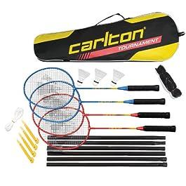 Carlton, set da torneo di badminton, 4 giocatori