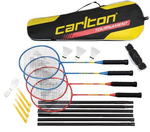 Carlton Tournament 4 Player Set G4 Ho (2013) - Muñequera de fitness para hombre (4 jugadores, postes)