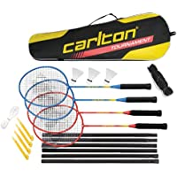 DUNLOP C Br Tournament 4 Player Set G4 Ho Set Badminton, Multicolore