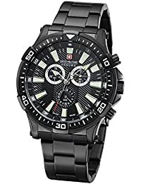 Swiss Military Hanowa Skipper Hombre Reloj Chrono 06–5266.13.007