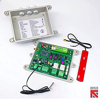 3g gsm auto dialler plus temperature alarm & power loss alarm