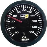 Raid HP 660175 Sport - Indicador de temperatura de aceite para coche, color negro