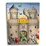 Trend 6518 - Create your Castle, Malbuch mit Stickern