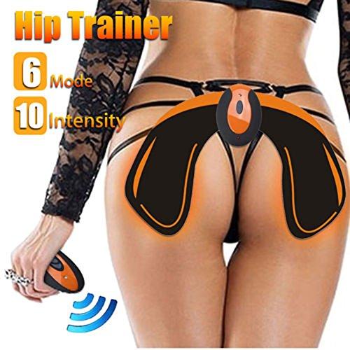 EMS Hip Trainer Entrenador de Cadera para Mujeres, Vibración Masaje Electrónico Cadera Levantador Cadera Delgada EMS Cadera Equipo de Belleza para Mujeres Nalgas Levantamiento de Cadera y Soportes de Cintura