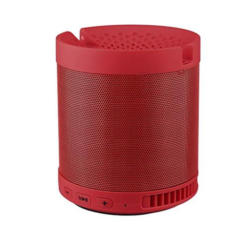 Haludock Bluetooth 5.0 führte bewegliches vorgerücktes 5W Fahrer-Mini drahtloses Bluetooth Lautsprecher-Spieler USB-Radio FM Mp3 Musik-Stereoton Colum -