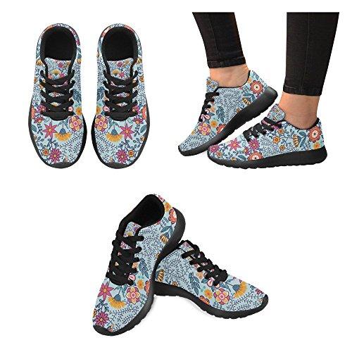 Chaussures De Course À Pied Zenzzle Pour Femme Noir Noir Color9