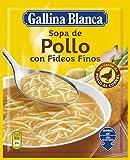 Sopa De Pollo Fideos Finos Gallina Blanca 71 grs