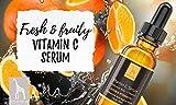 Mother Nature – Vitamin C Serum | 30 ml Hochdosiert | Anti-Aging Gesichts- und Hautpflege inkl. Hyaluronsäure und Vitamin E - 3