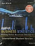 Applied Business Statistics, 7ed, ISV