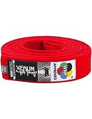 Venum Karate Belt - Cinturón de karate, color rojo, 280 cm