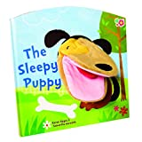 Meadow Kids Le Livre Sleepy Puppy Marionnette à Main