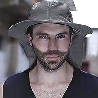 Cutogain Outdoor Double-deck Sunny Rainy Anti-UV Umbrella Hat Cap Rain Gear For Cycling Fishing Hiking Beach