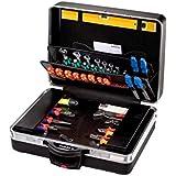 PARAT 489.610-171  Classic Werkzeugkoffer King-Size-Plus rollbar mit CP-7 Werkzeughaltern, schwarz (Ohne Inhalt)