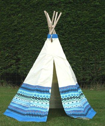 garden-games-aztec-wigwam-play-tent-cotton-water-resistant-coating-w-velcro-door